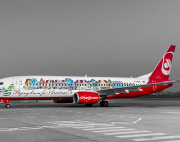 Air Berlin: aeroplane stickers