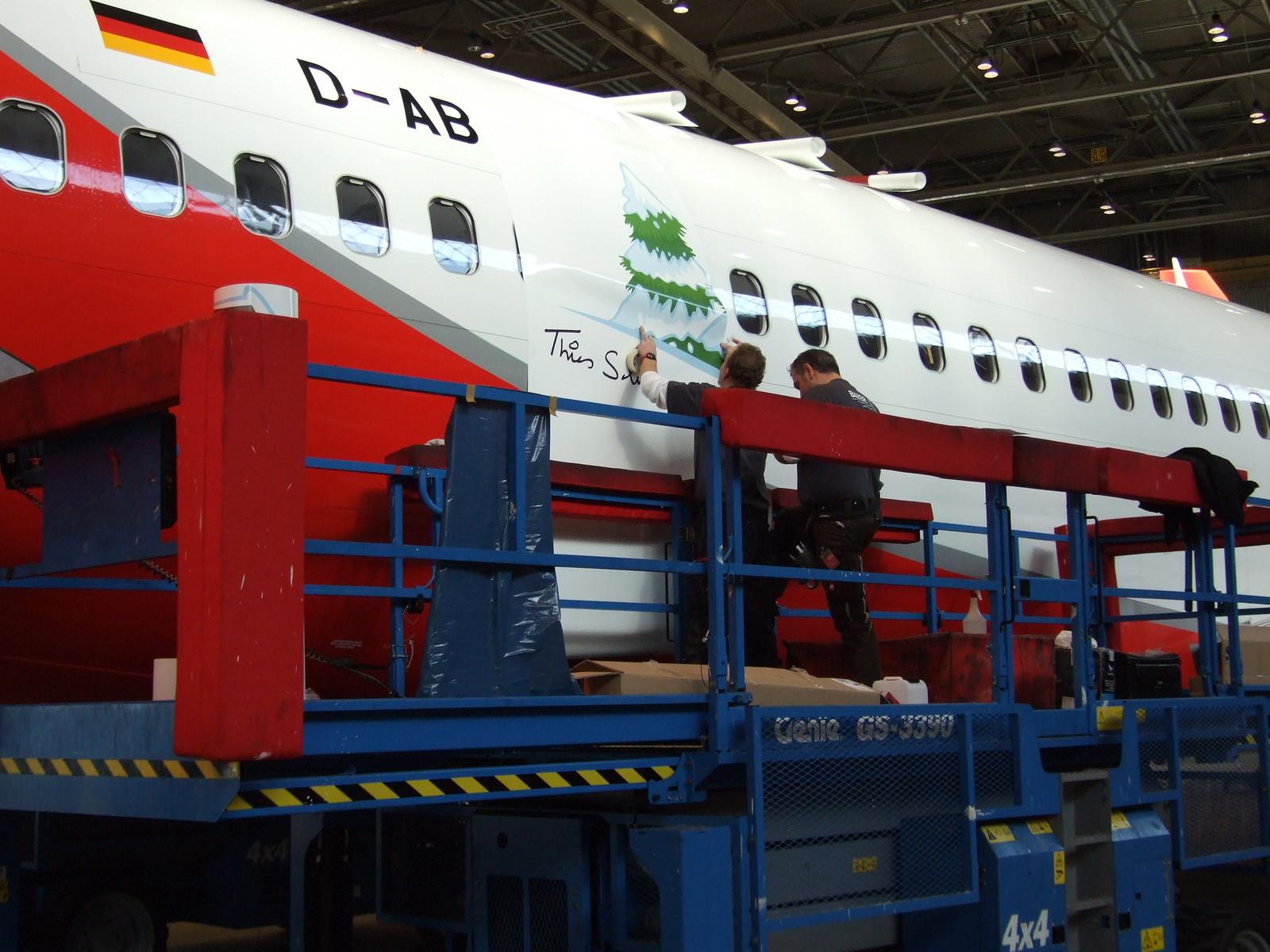 air berlin flugzeugbeklebung projektbeispiele kl druck