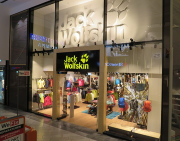 Jack Wolfskin: POS equipment