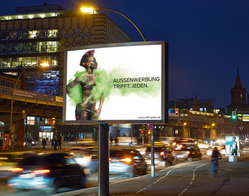 Professional Association for Outdoor Advertising (Fachverband Aussenwerbung): poster campaign
